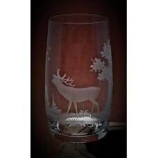 Longdrinkglas mit Gravur Jagd