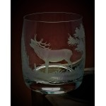 Whiskyglas mit Gravur Jagd