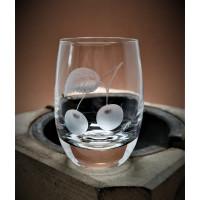 Schnapsglas mit Gravur Obst