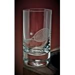 Schnapsglas mit Gravur Tennis