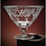 Glasschale mit Gravur