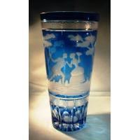 Überfangglas Vase