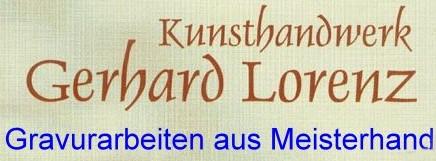 Glasgravur Lorenz Kunsthandwerk